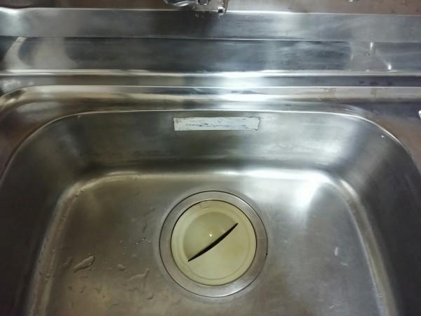 シンク水垢落とし方