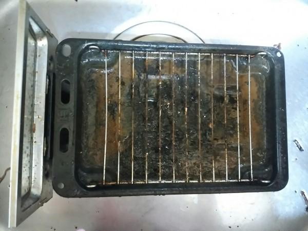 魚焼きグリル 掃除 網