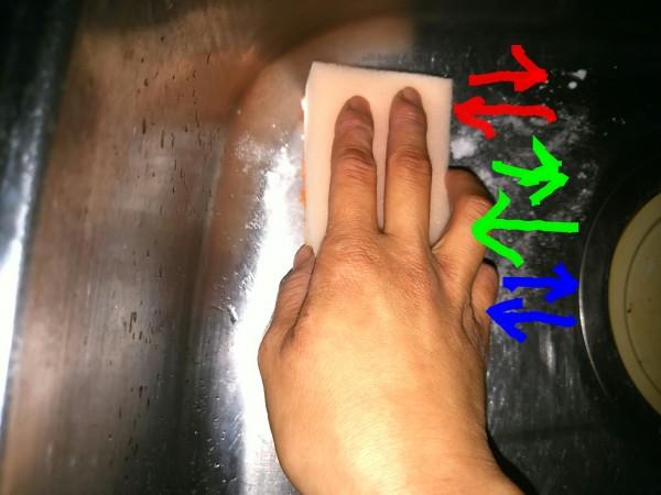 シンク 掃除 簡単