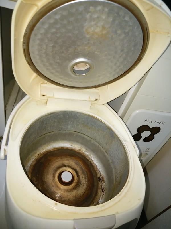 炊飯器 内蓋 内側 掃除