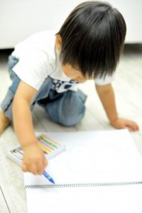 子ども 落書き