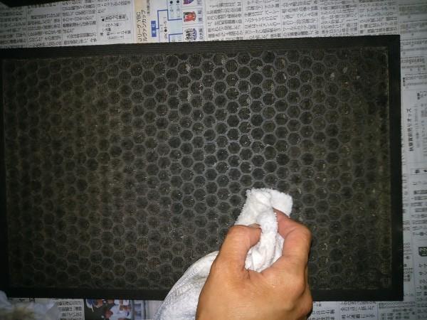 シャープ 空気清浄機 掃除