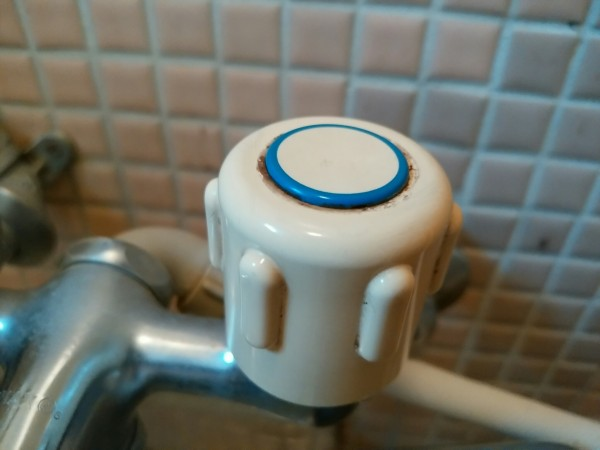 お風呂蛇口掃除