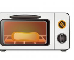 オーブントースター汚れ落とし方