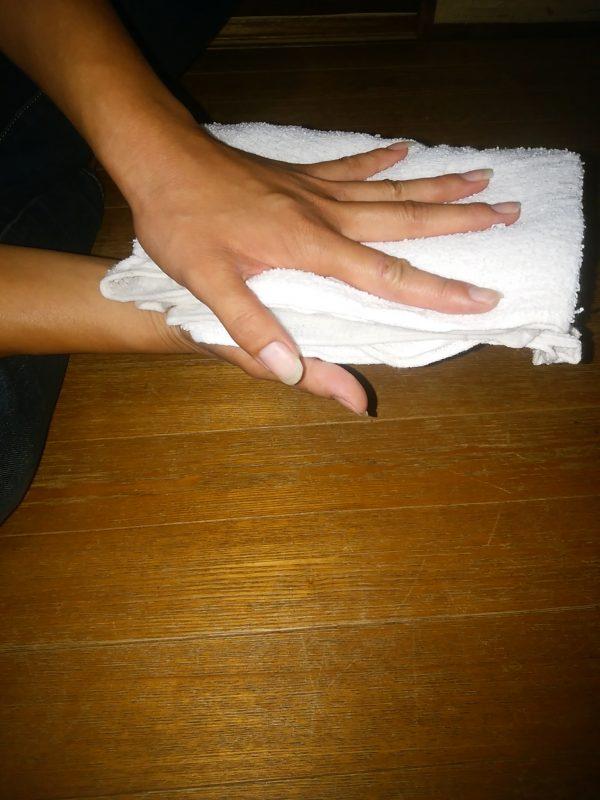 掃除 雑巾 使い方