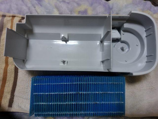 空気清浄機の加湿フィルター掃除!クエン酸が有効!