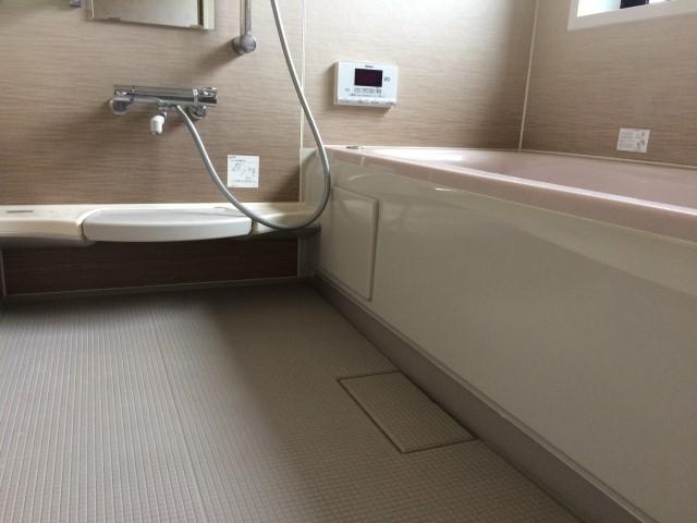 お風呂床 ベタベタ